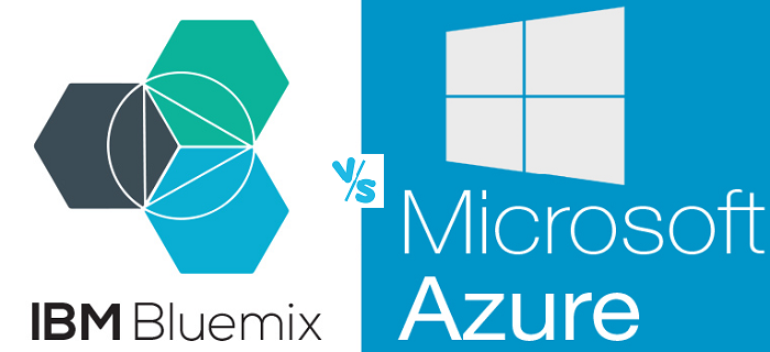 IBM Bluemix vs Microsoft Azure