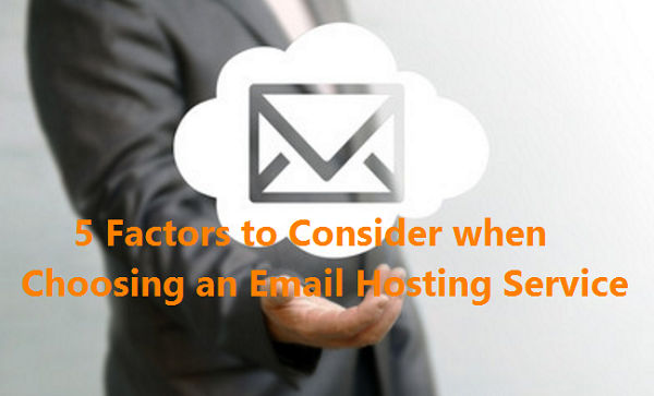 Selecting Email Hosting Service