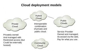 Cloud computing infrastructure models