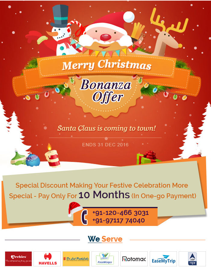 Christmas and New Year Web Hosting Offers in India