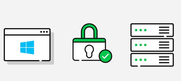 Configure the Hosts file on a Windows Server