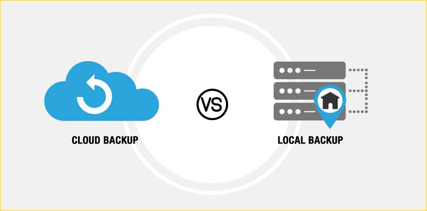 Cloud Backup Solutions vs Local-Backup