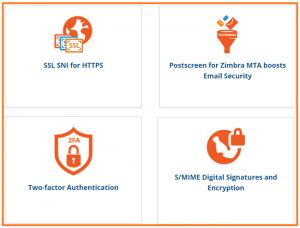Zimbra Security Features