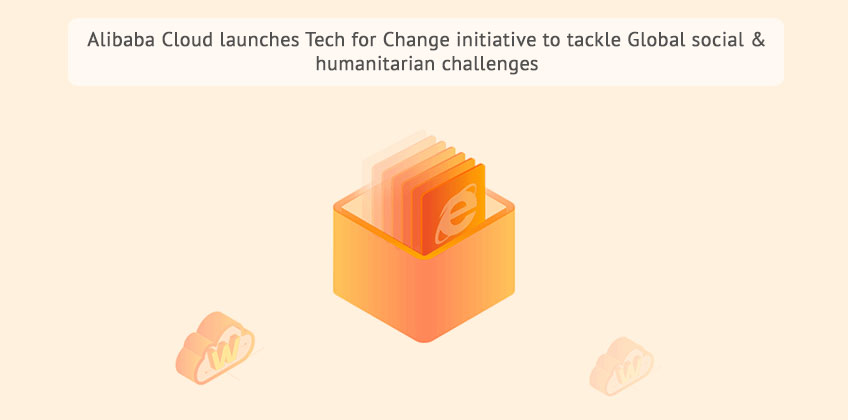 Alibaba Cloud launches Tech for Change initiative
