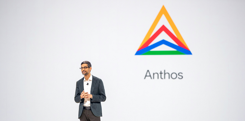 Google Anthos announcement