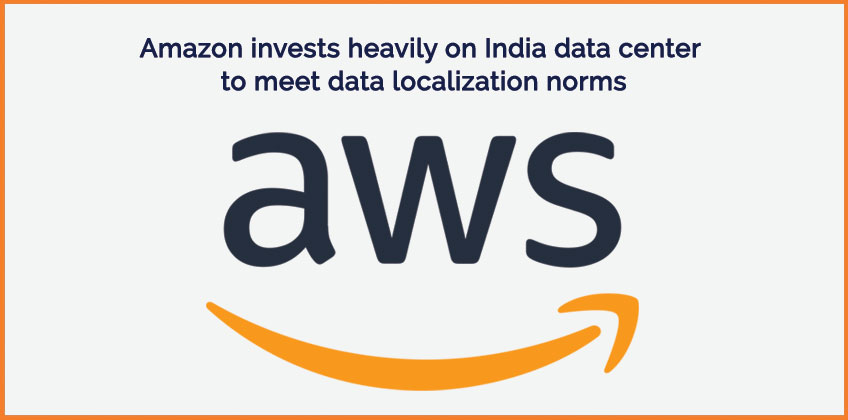 Amazon Web Services India data center announcement